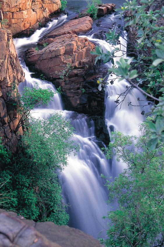Crystal  Falls courtesy of NTTC Northern Territory tourism for Katherine regional tourism